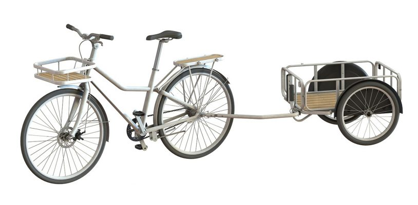 Sladda bike with trailer component